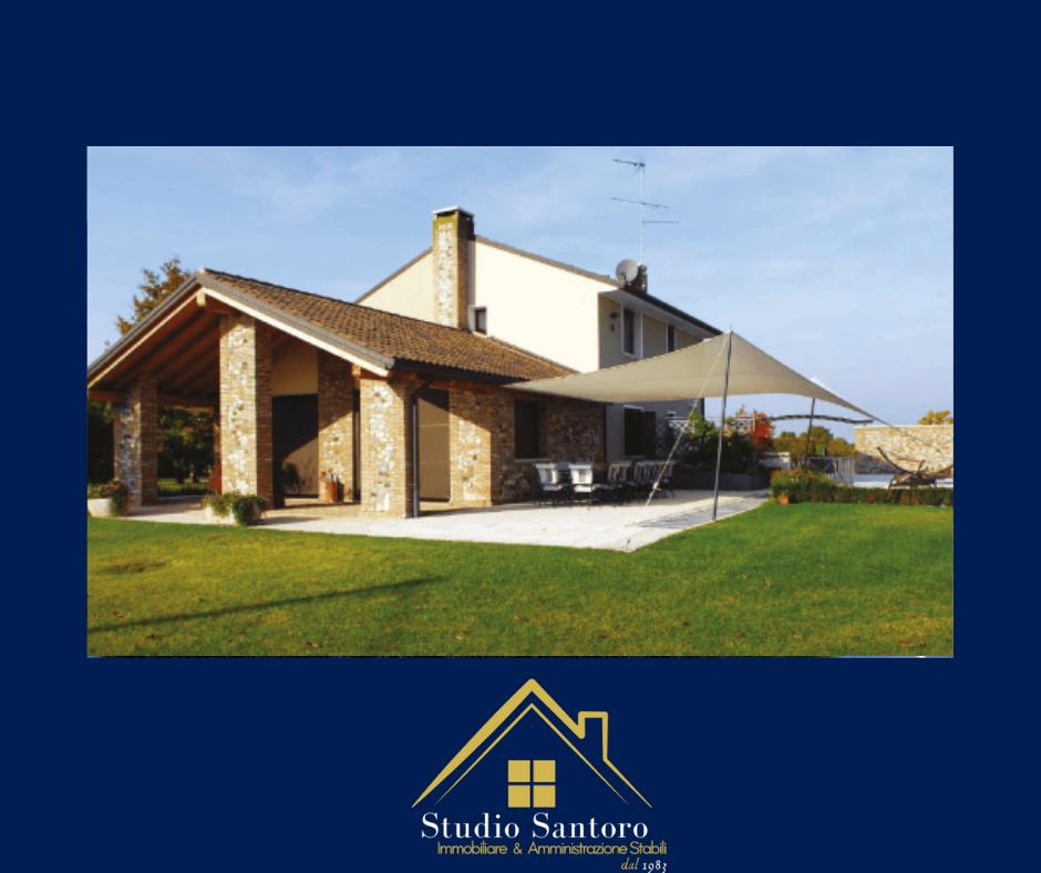 studio santoro immobiliare - consulenti - villa con giardino