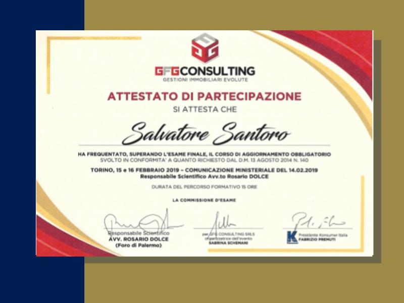 studio - santoro - immobiliare - torino - certificazioni - fiaip - colore blu e oro - italia- oro rosso - consulting - amministratore